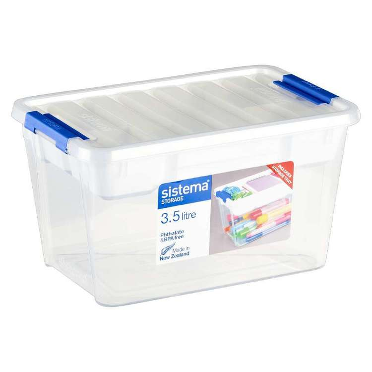 Sistema Craft Storage With Tray