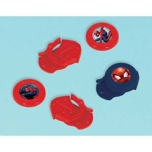 Spider-Man Webbed Wonder Disc Shooters Favours