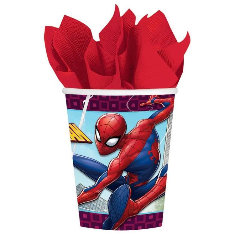 Spider-Man Webbed Wonder Cups