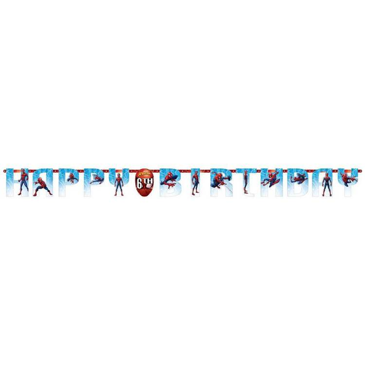 Spider-Man Webbed Wonder Jumbo Add Age Banner