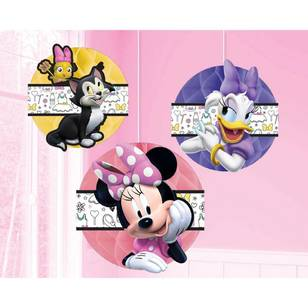 Minnie Mouse Happy Helpers Honeycomb Decorations