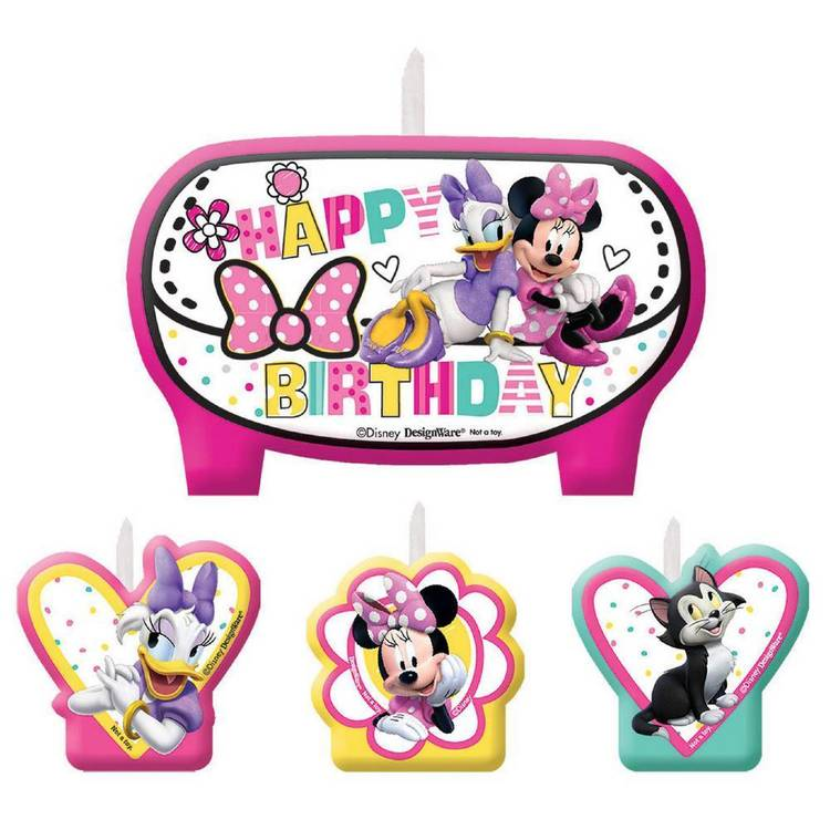 Minnie Mouse Happy Helpers Birthday Candles Set