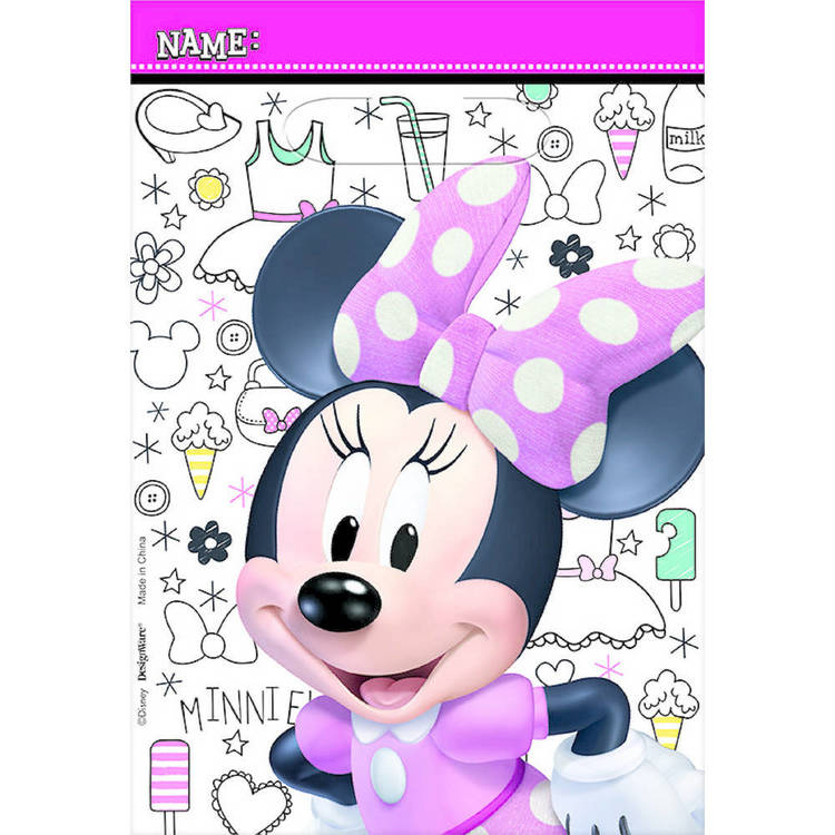 Minnie Mouse Happy Helpers Folded Loot Bags
