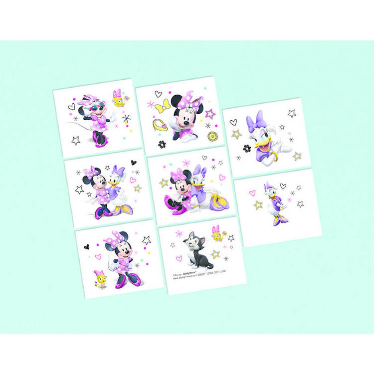 Minnie Mouse Happy Helpers Tattoo Favours