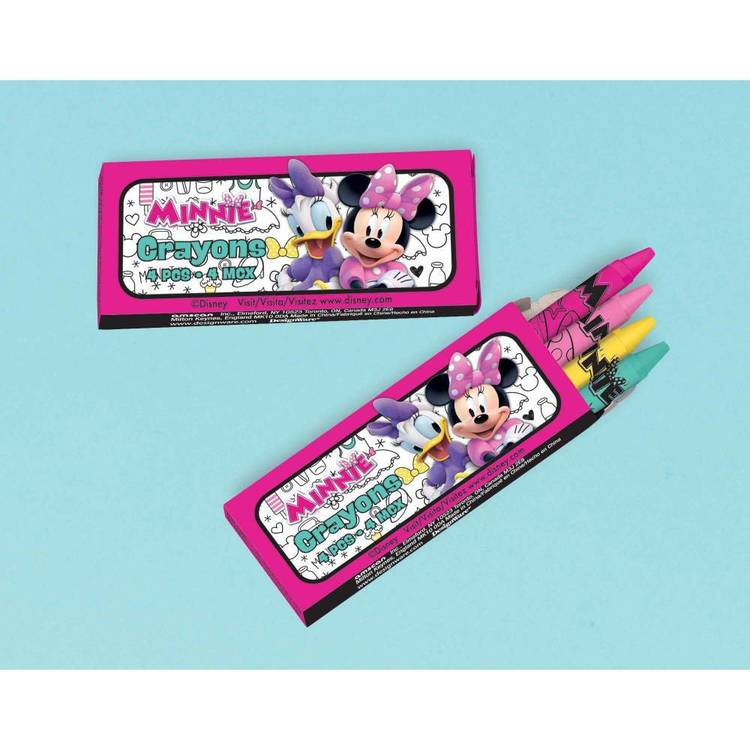Minnie Mouse Happy Helpers Mini Crayon Favours