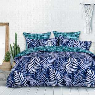 KOO Harmony Blue Quilt Cover Set