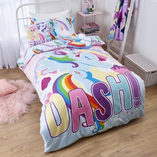 My Little Pony Rainbow Quilt Cover Set