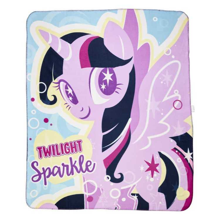 My Little Pony Rainbow Throw Multicoloured