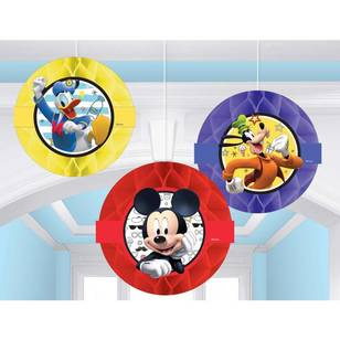 Mickey on the Go Honeycomb Decorations