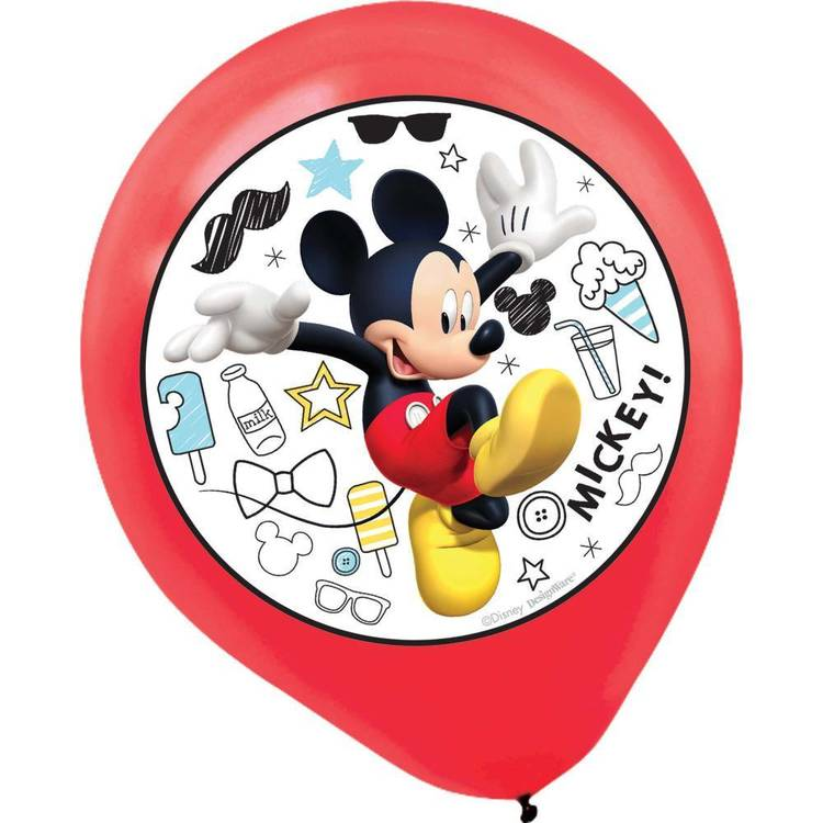 Mickey on the Go Latex Balloons