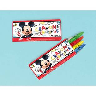 Mickey on the Go Mini Crayon Favors