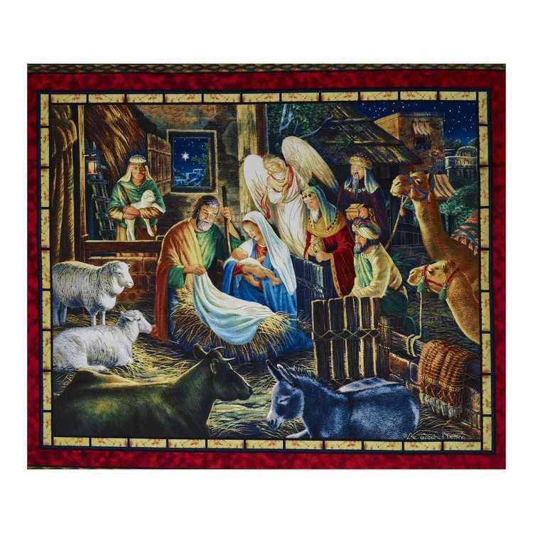 Christmas Nativity Panel