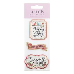 Jenni B Birthday Wish Stickers