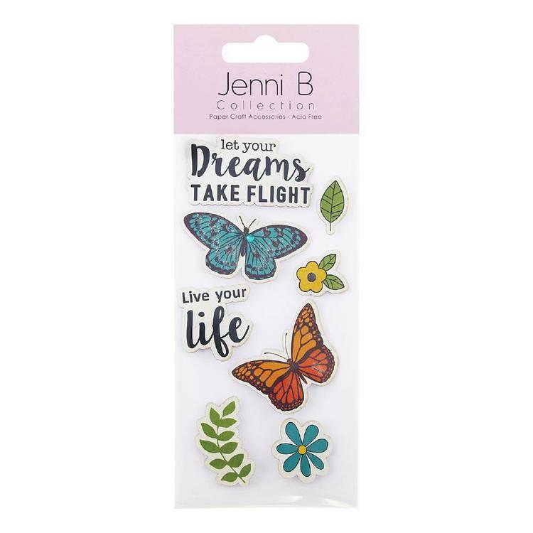 Jenni B Live your Life Stickers