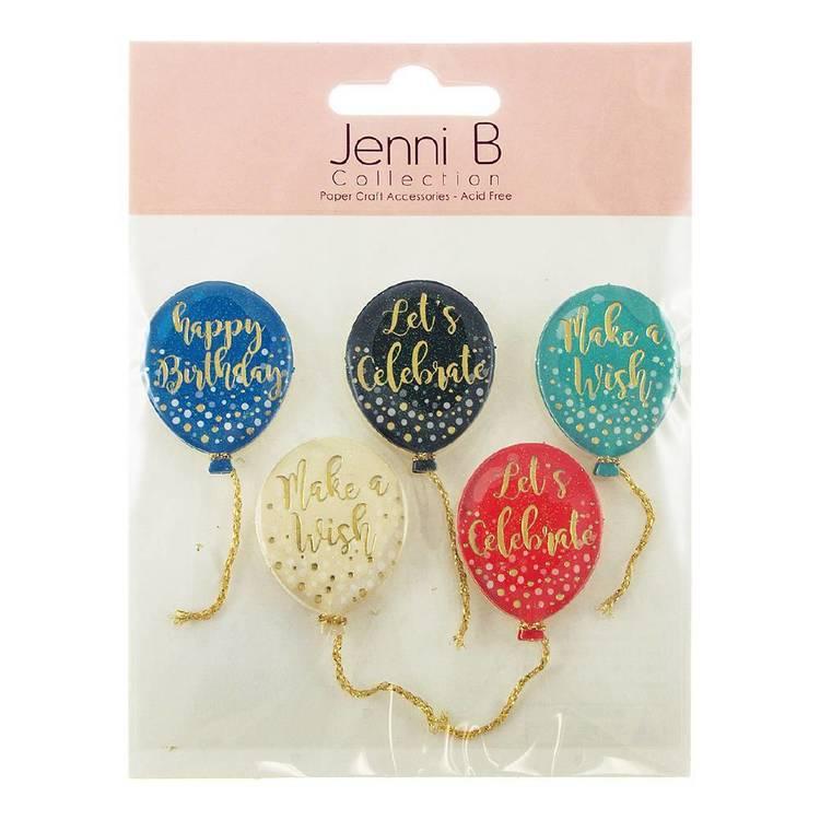 Jenni B Birthday Balloons Stickers