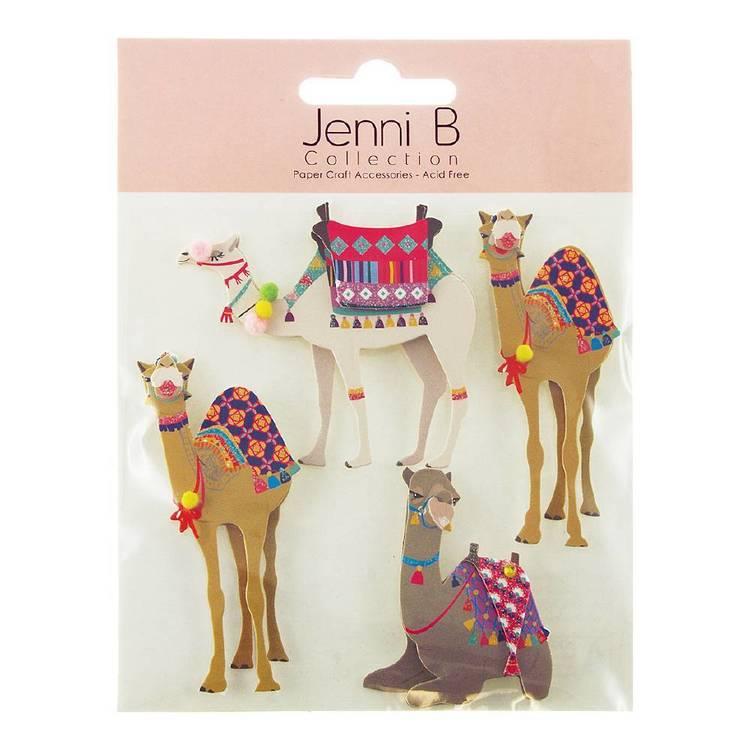 Jenni B Camel Stickers