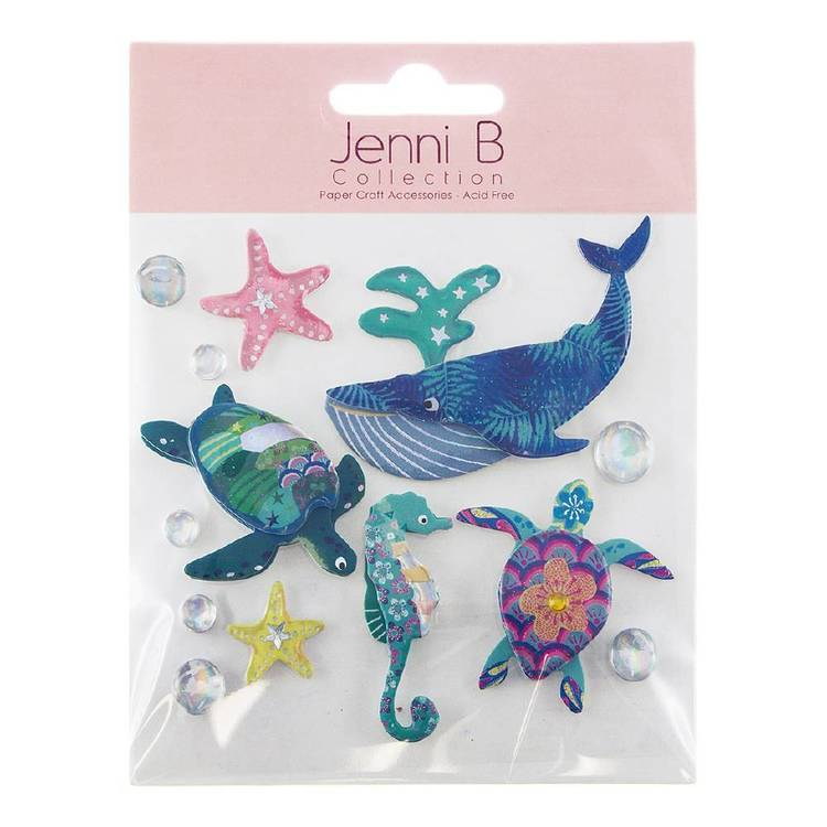 Jenni B Sea Creatures Stickers