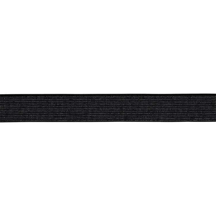 Glitter Metallic Elastic Ribbed Small