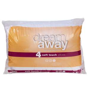 Dream Away Soft Touch 4 Pack Pillow