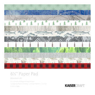 Kaisercraft Mountain Air 6.5 Paper Pad