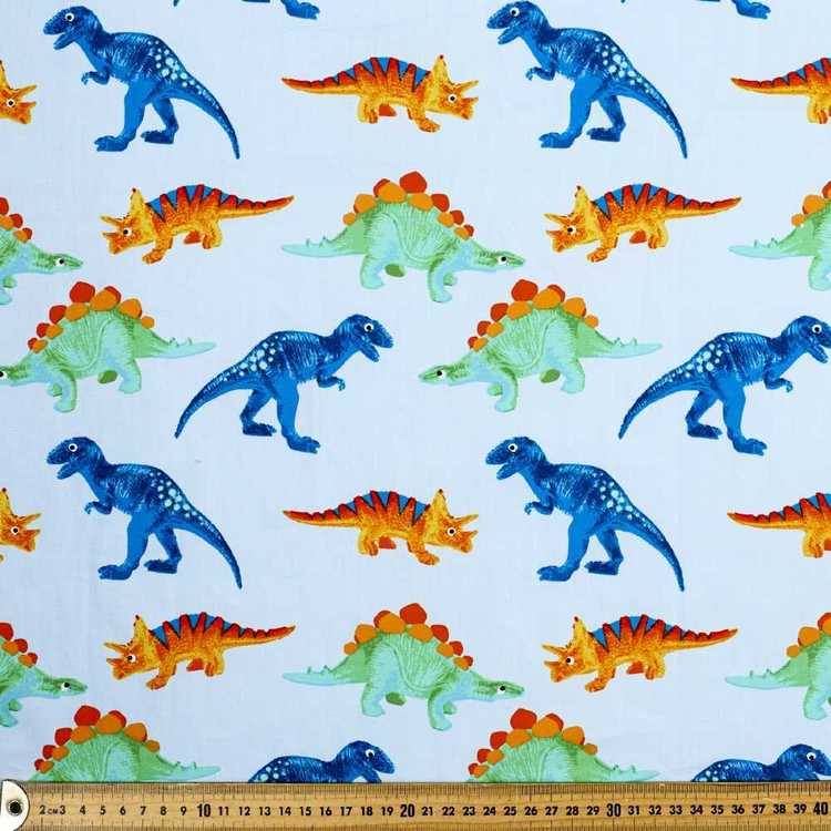 Happysaurs Printed Cotton Poplin Fabric