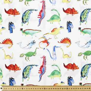 Spiky Dudes Printed Cotton Poplin Fabric