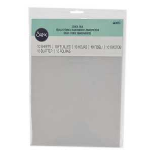 Sizzix Accessory Stencil Film