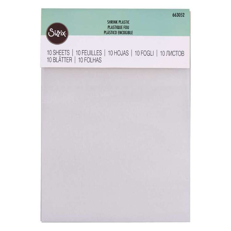 Sizzix Accessory Shrink Plastic