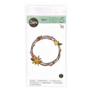 Sizzix Thinlits Wreath Die Cut Set