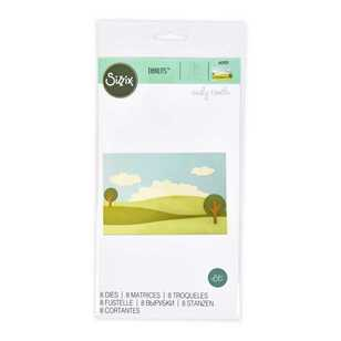 Sizzix Thinlits Build a Landscape Die Cut Set