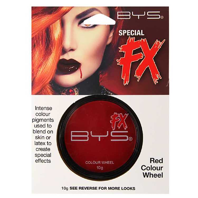 BYS Special FX Red Colour Wheel