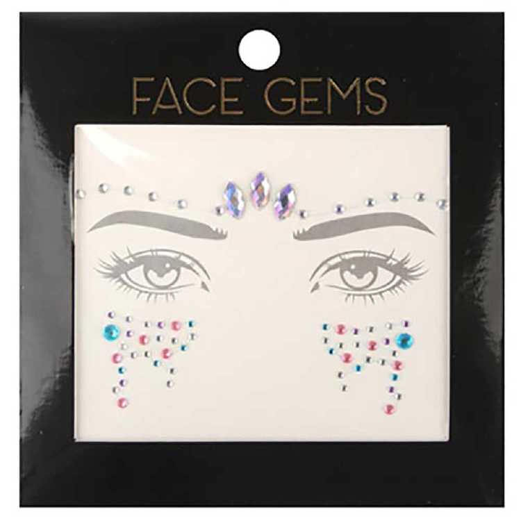 BYS Pastel and AB Face Gems