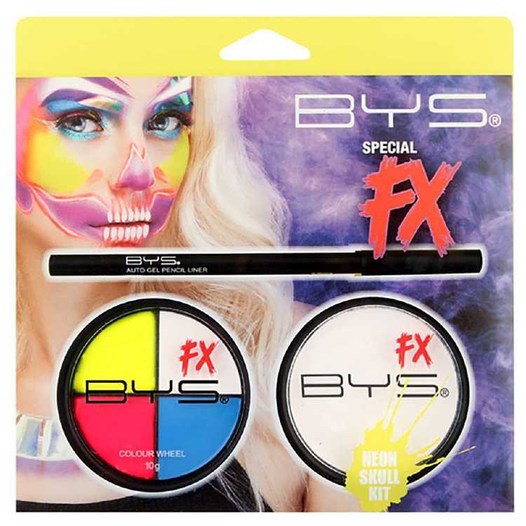 Bys Special Fx Neon Skull Starter Kit