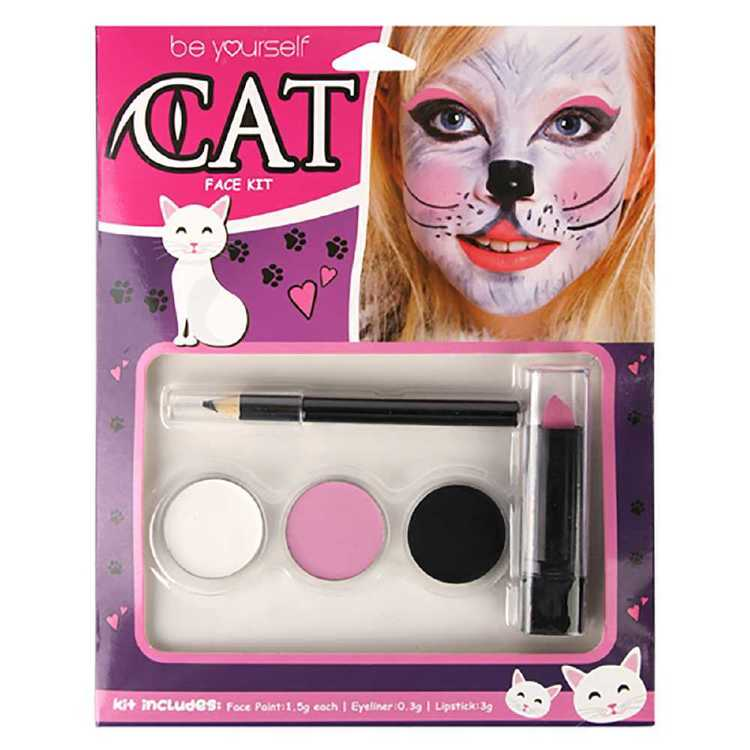 Be Yourself Cat Face Kit Multicoloured