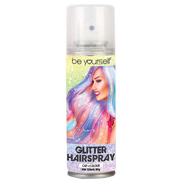 Be Yourself Glitter Hair Spray
