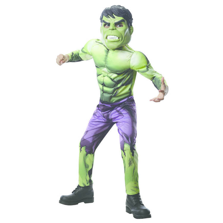 Marvel Hulk Infinity Wars Deluxe Costume Green