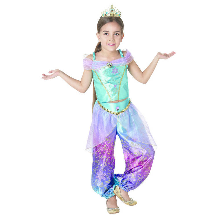 Disney Princess Jasmine Rainbow Costume