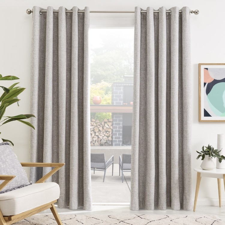 Gummerson Neutrals Eyelet Curtains