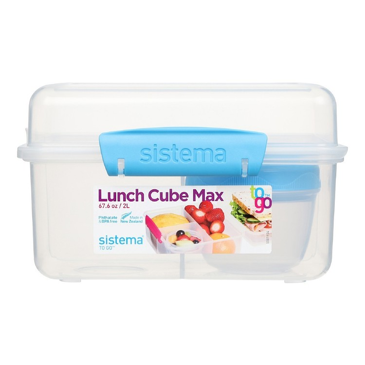 Sistema Lunch Cube Max To Go Container