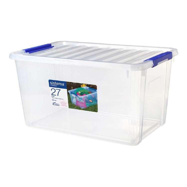 Sistema 27L Storage Bin With Lid