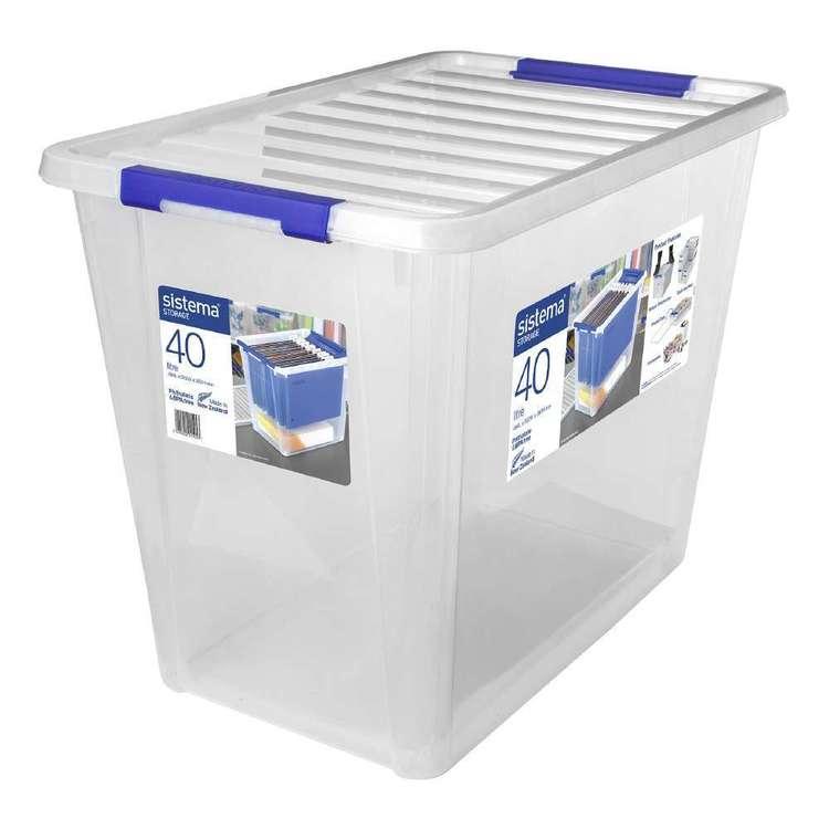 Sistema 40L Storage Bin With Lid