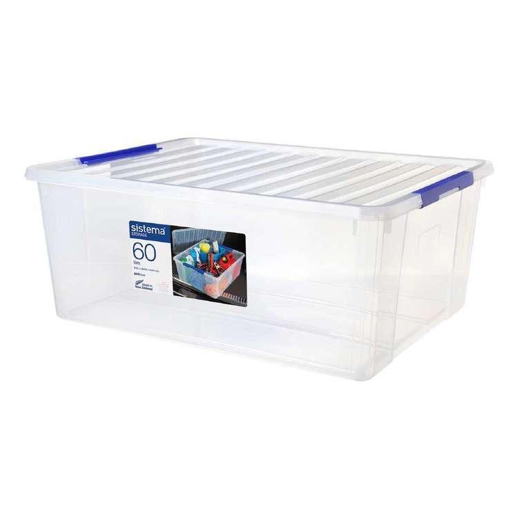 Sistema 60L Storage Bin With Lid