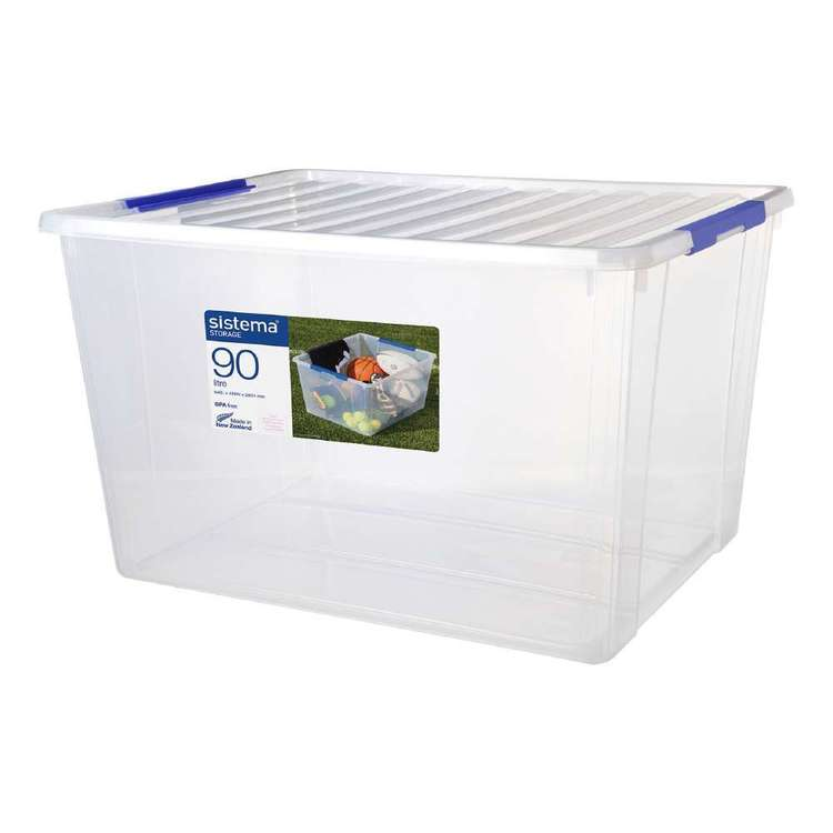 Sistema 90L Storage Bin With Lid