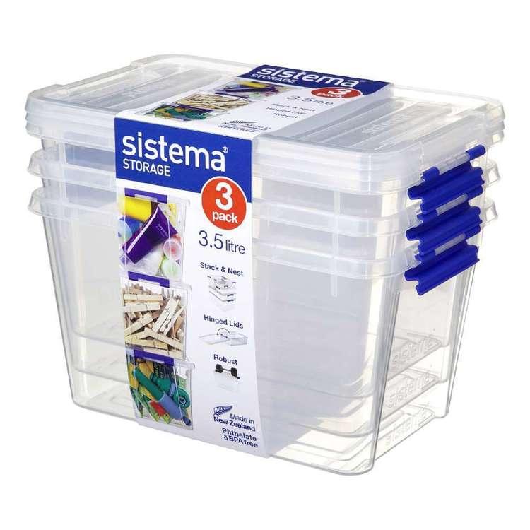 Sistema 3.5L Storage Box 3 Pack