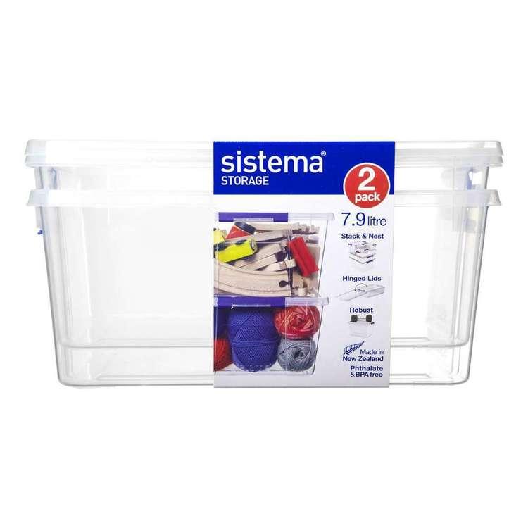 Sistema 7.9L Storage Box 2 Pack