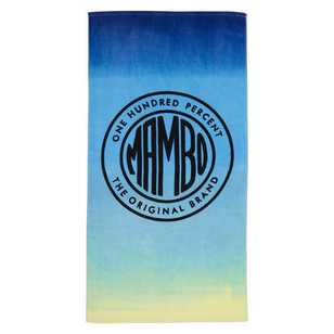 Mambo Sunset Beach Towel