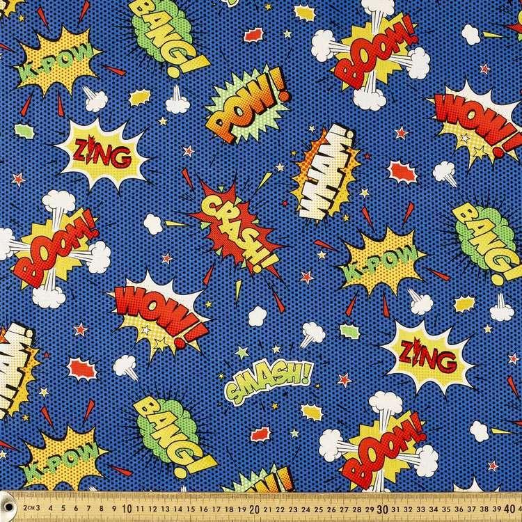 Pow Allover Cotton Fabric