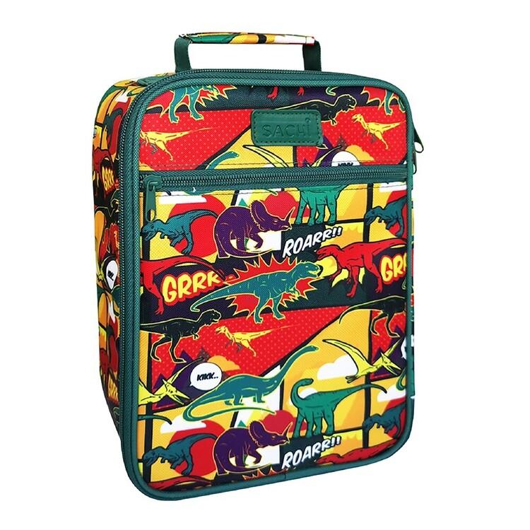 Sachi Kids Lunch Tote Dinosaurs Storage Bag