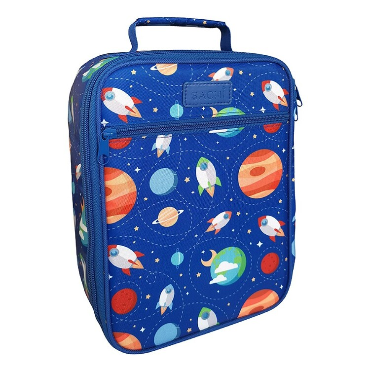 Sachi Kids Lunch Tote Outer Space Storage Bag