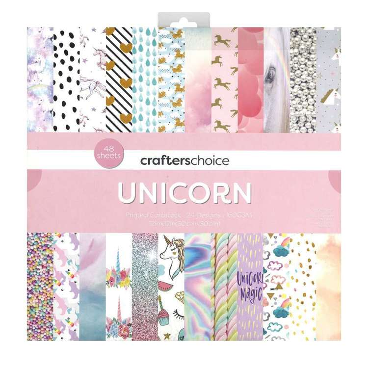 Crafters Choice Unicorn Paper Pad